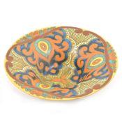 "Large Gouda pottery bowl ""Rembrandt"""