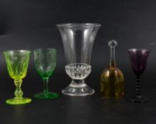 Victorian and Edwardian glass and other ceramics.