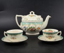 """Royal Doulton """"Kingswood"""" part dinner and tea service."""