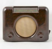 Bush type DAC 90A Bakelite radio.
