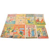 Twelve Famous Funnies comics no.61 to 131