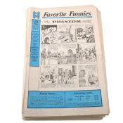 Favourite Funnies Golden Age Comic Strips, run from no.1 to 43