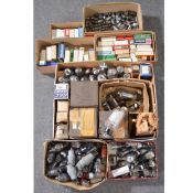 A large collection of early 20th century and later radio and amp valves