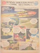 Buck Rogers newspaper comic strip pages, 40 colour supplement pages 1937-1939