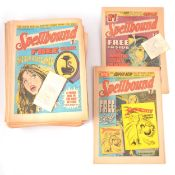 Spellbound comics; a run from no.1 to no.68, (missing no.61 and no.62)