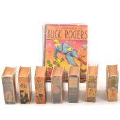 Eight Buck Rogers books, c1930s