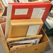 Comics and comic newspaper supplements (one box)