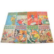 Fifteen Famous Funnies comics no.132 to 149