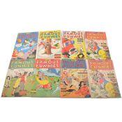 Fifteen Famous Funnies comics no.150 to 170