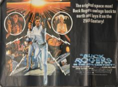 Buck Rogers In The 25th Century quad film poster