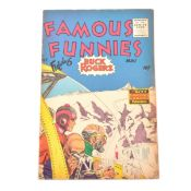 Famous Funnies comic no.217, Buck Rogers cover