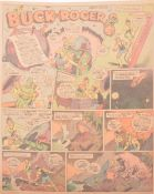 Buck Rogers newspaper comic strip pages, 40 colour supplement pages 1932