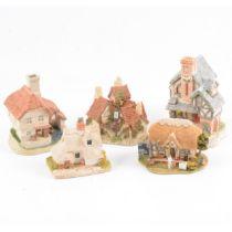 David Winter and Lilliput Lane cottages.