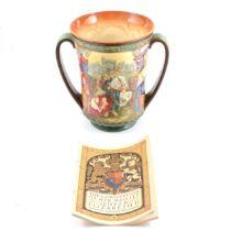 Royal Doulton Commemorative Limited Edition Loving Cup - Coronation George VI
