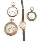 Wrist and pocket watches,.