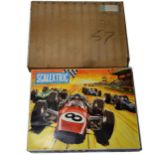 Scalextric slot-car racing Club 60 set, etc