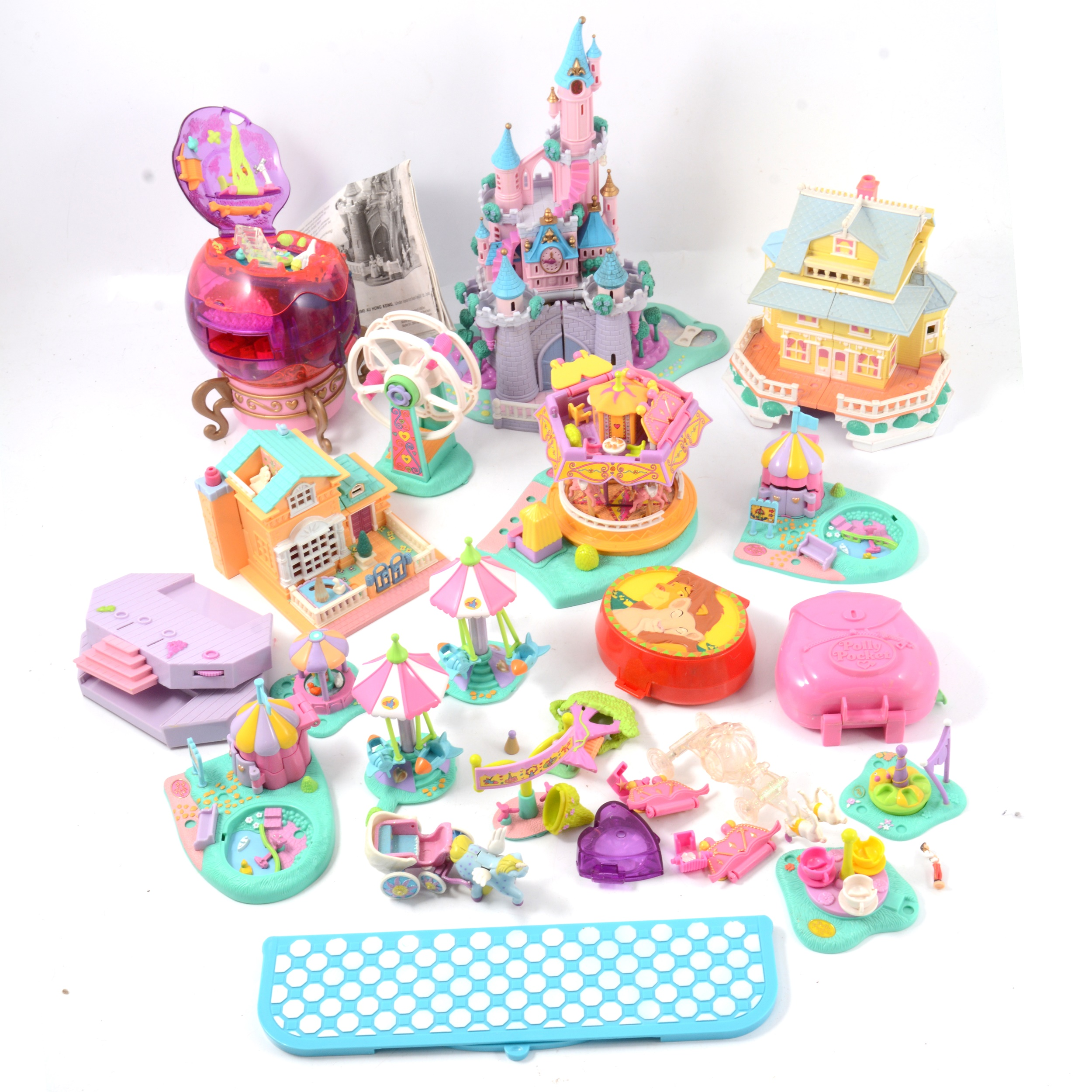 Polly Pockets by Bluebird, a collection of approx 17 sets and other accessories
