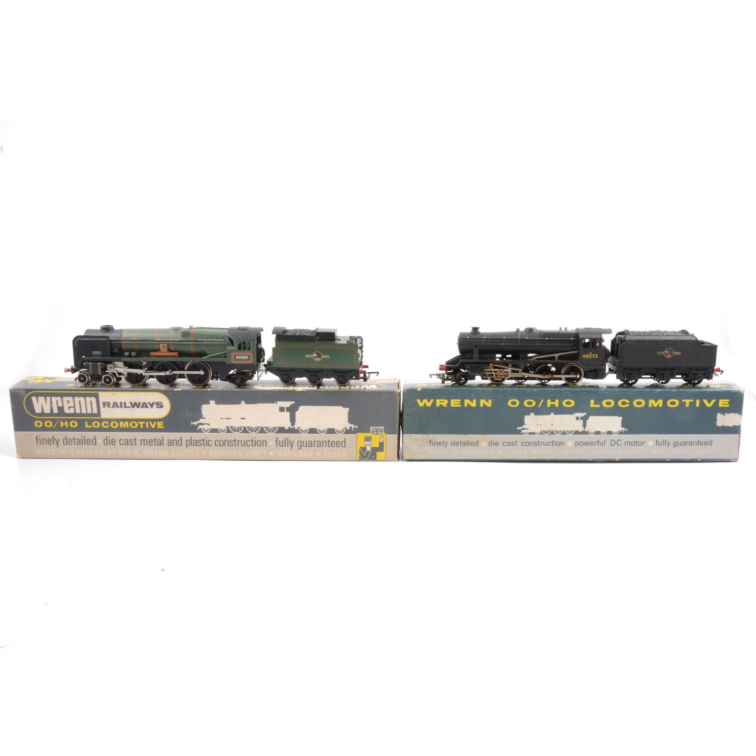 Two Wrenn OO gauge locomotives W2236 & W2224