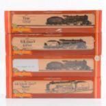 Four Hornby OO gauge model railway locomotives, R683, R817 (x2), R084