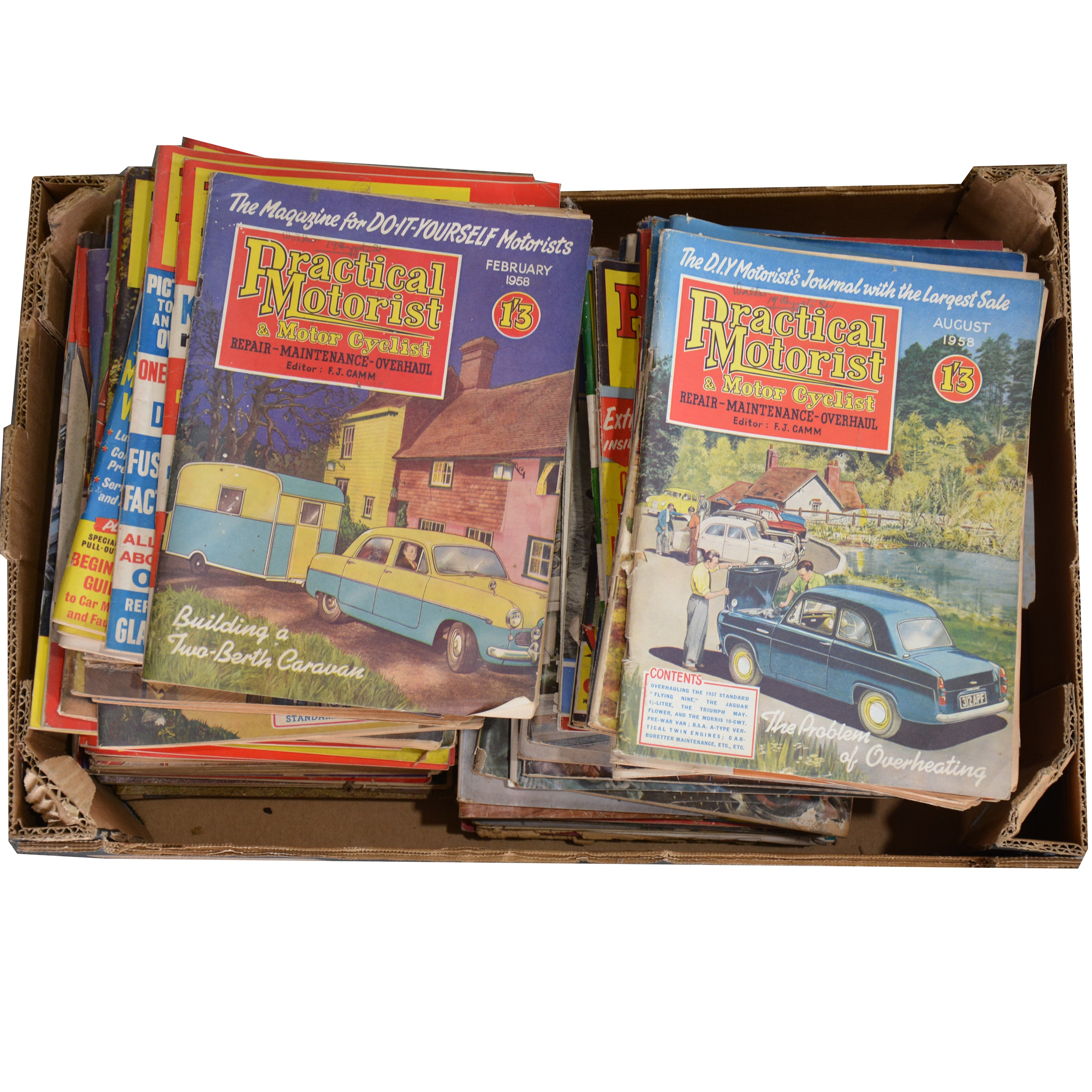 Practical Motorist & Motor Cyclist, Practical Motorist and other magazines
