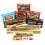 OO gauge model railway rolling-stock and plastic model kits, including four Airfix