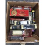 Matchbox Models of Yesteryear die-cast models; twenty-eight boxed examples