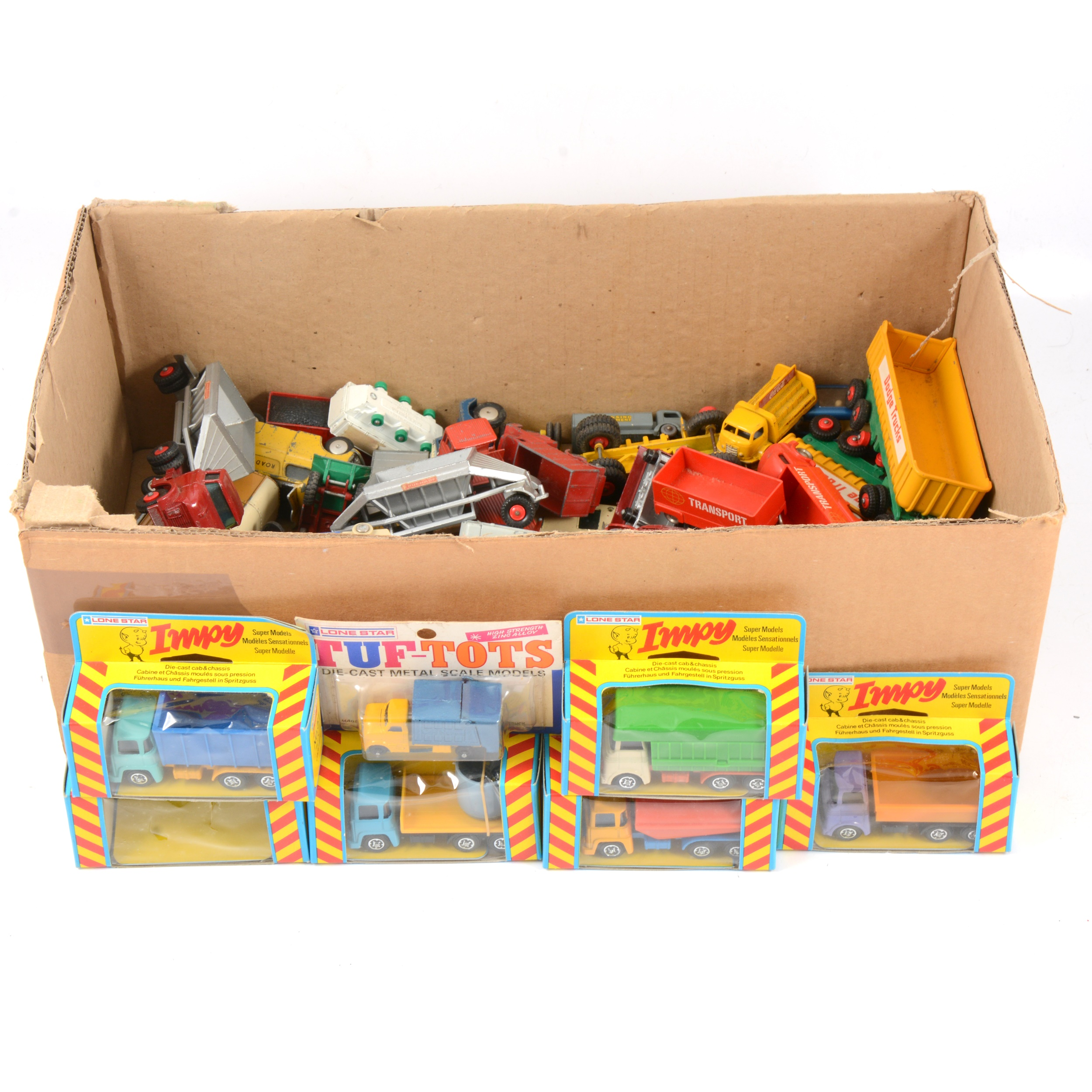 Loose die-cast models and vehicles