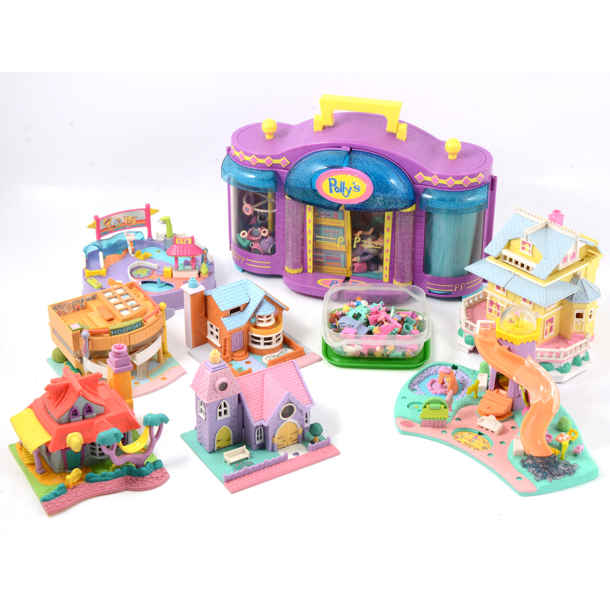 Polly Pockets by Bluebird, a collection of approx 17 sets and other accessories - Image 2 of 2