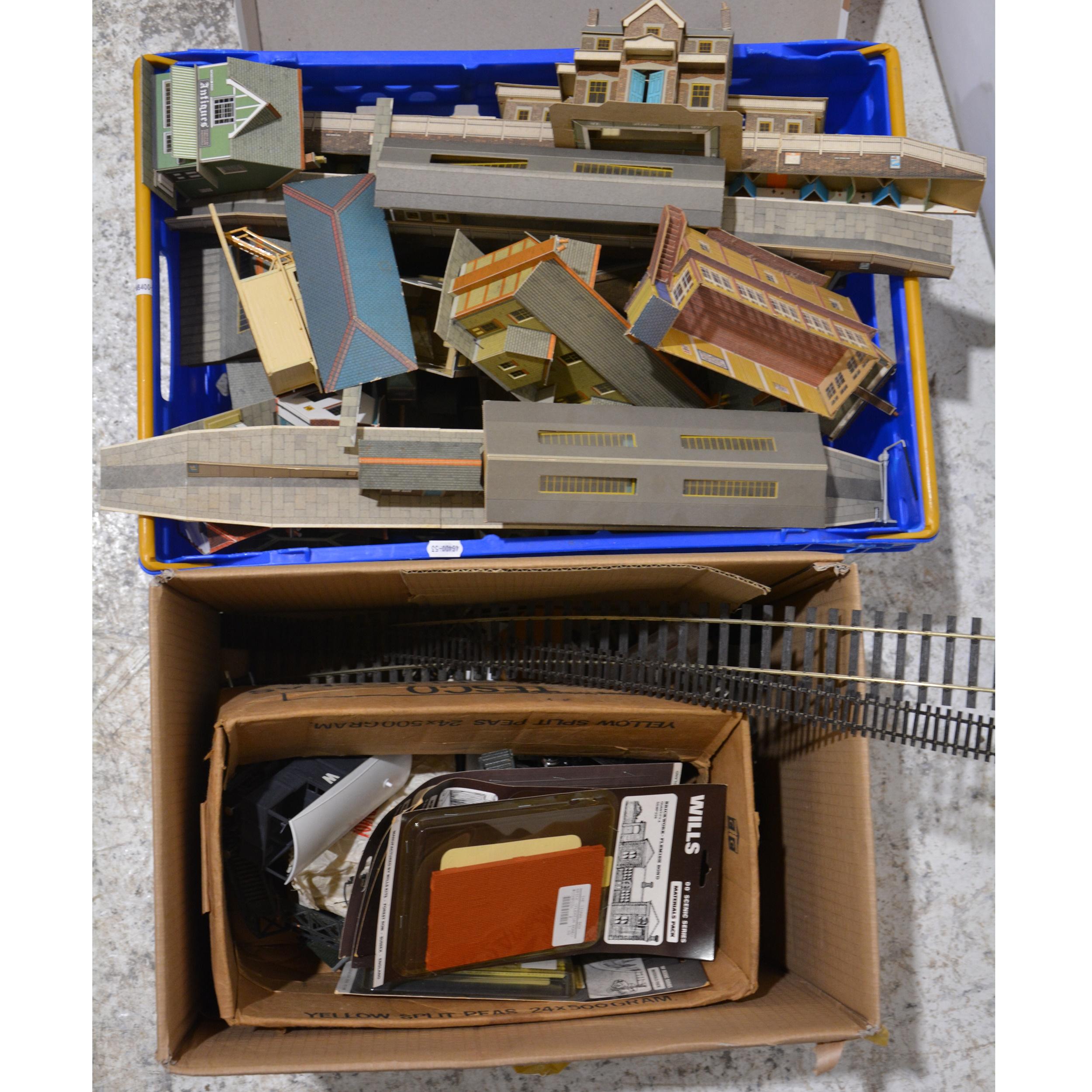 OO gauge model railways accessories.