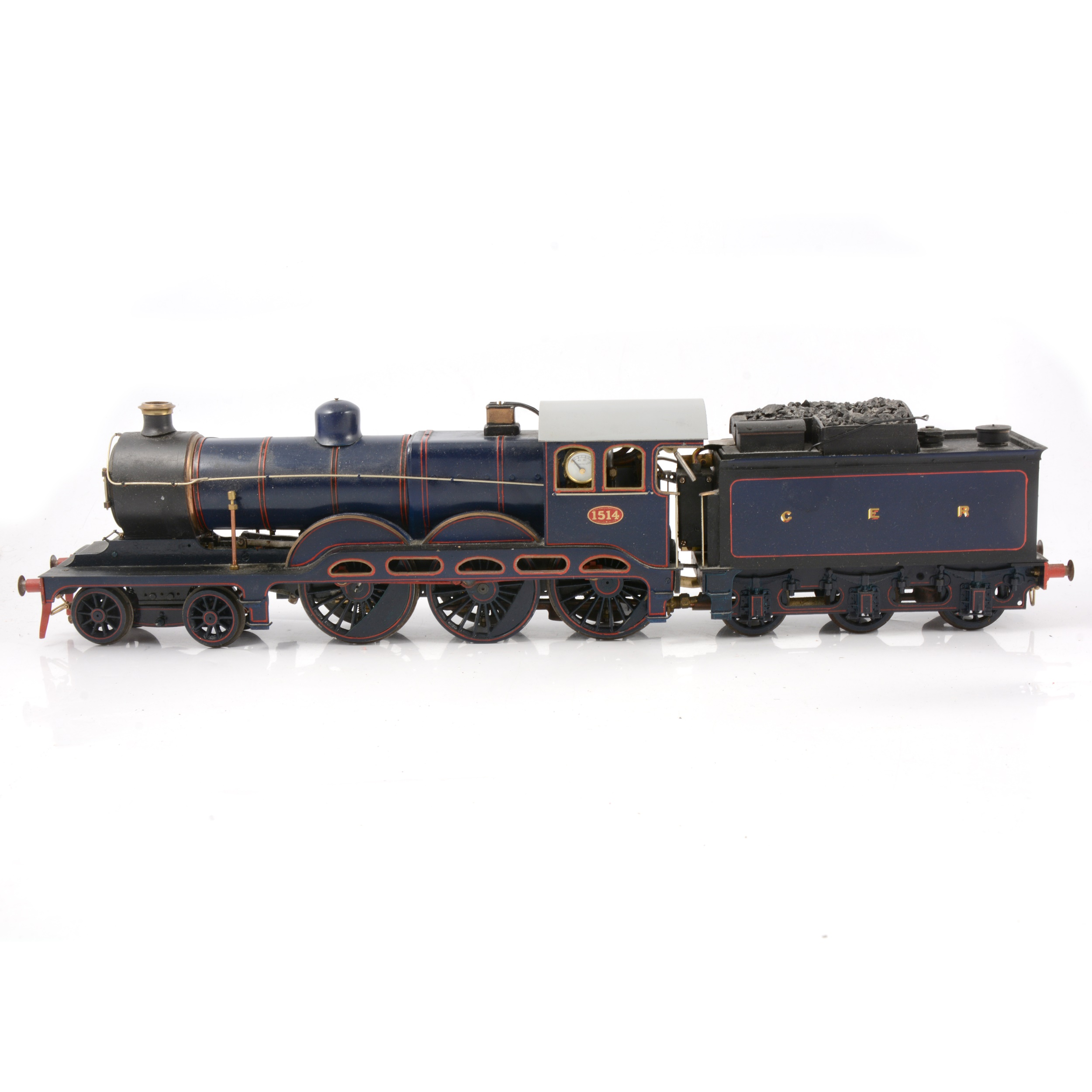 A well-built live steam gauge 1 / G scale, 45mm locomotive, GER, 4-6-0 no.1514 'Royal Train' - Image 4 of 4