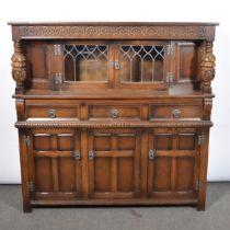 Reproduction oak dining suite