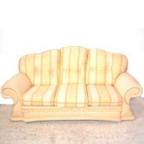 Modern four-piece lounge suite,