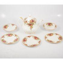 "Royal Albert ""Old Country Roses"" pattern china,"