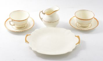 Royal Doulton Belvedere part tea service.