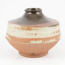 Doreen Blumhardt, a stoneware vase, circa 1967