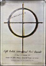Two British International Print Biennale posters