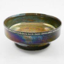 Gordon Forsyth for Pilkington's Royal Lancastrian, a lustre pedestal bowl