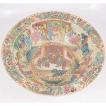 Large Chinese porcelain basin,