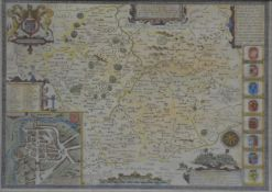 Two John Speed maps,