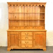 Pine Welsh dresser,
