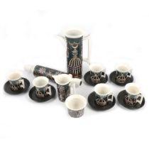 Portmeirion Magic City coffee set