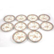 Set of ten Limoges plates