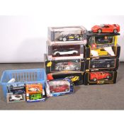 Scale model racing cars, Twenty-Two various scales