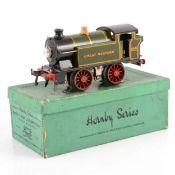 Hornby O gauge model railway electric locomotive; EM36 tank locomotive