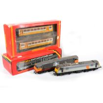 Hornby OO gauge model railway diesel locomotives and power coaches