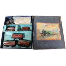 Hornby O gauge model railway no.501 passenger set