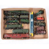 Eleven OO gauge model railway locomotives including Lima class 50 diesel etc