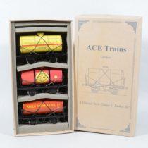 ACE Trains O gauge 4 wheel tanker wagon set no.3