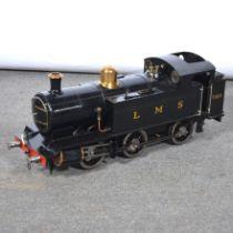 A well-built 3.5inch gauge live steam tank locomotive, LMS, 7164, 0-6-0 black