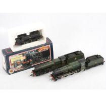 Four Bachmann OO gauge model locomotives 31-451, 31-778, 31-156, 32-902A